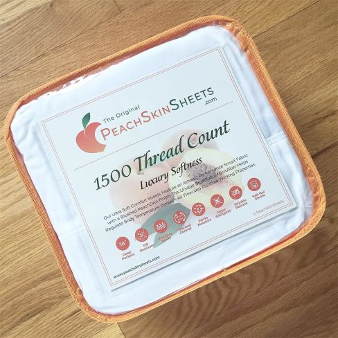 🍑 Enter and you could #WIN a set of PeachSkinSheets in your choice of size and color when this #SMGN Gift Guide #Giveaway ends 6/30. @SMGurusNetwork @PeachSkinSheets