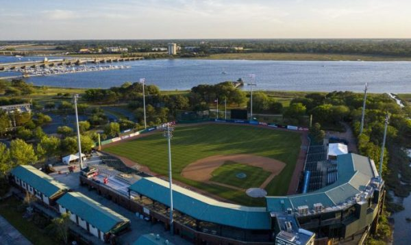 """In 1997, the Joseph P. Riley Jr. Park was built. Nicknamed """"The Joe"""" by locals, the park is the home field of the Charleston RiverDogs baseball team of the Single-A South Atlantic League and The Citadel Bulldogs baseball team. Bill Murray, who owns a home in Charleston, is a RiverDogs co-owner. Maybe you'll see him Down at The Joe or one of the local hangouts. As he frequently stops in bars and restaurants around the city, often paying the tab of all its patrons!"""