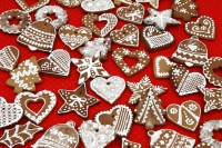 Enjoy Poland's heavily spiced honey-based gingerbread anytime with this Pierniki Polish Gingerbread Cookies recipe. #cookie #baking #tradition #food