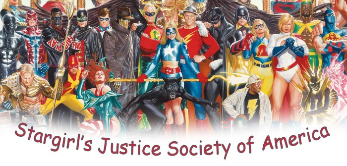 The Justice Society of America (JSA) is a central element in the new teenage superhero drama, Stargirl by DC Comics. If you've never picked up a comic book, the JSA might be a bit unfamiliar to you. So here's a quick recap…