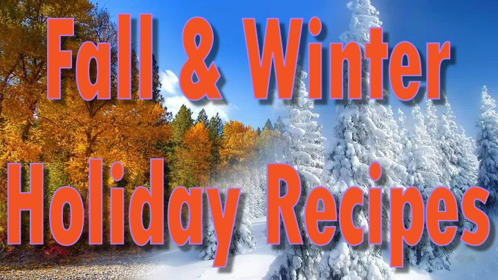 The creative and tasty recipes on our Fall and Winter Holiday Recipes Linky are sure to please!