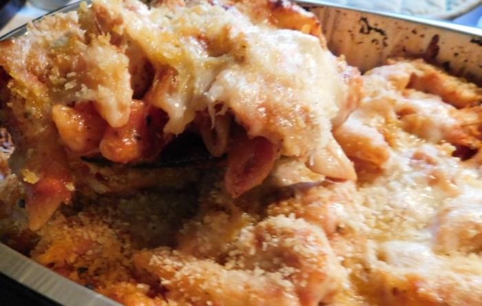 Home Chef Three Cheese Chicken Penne Bake