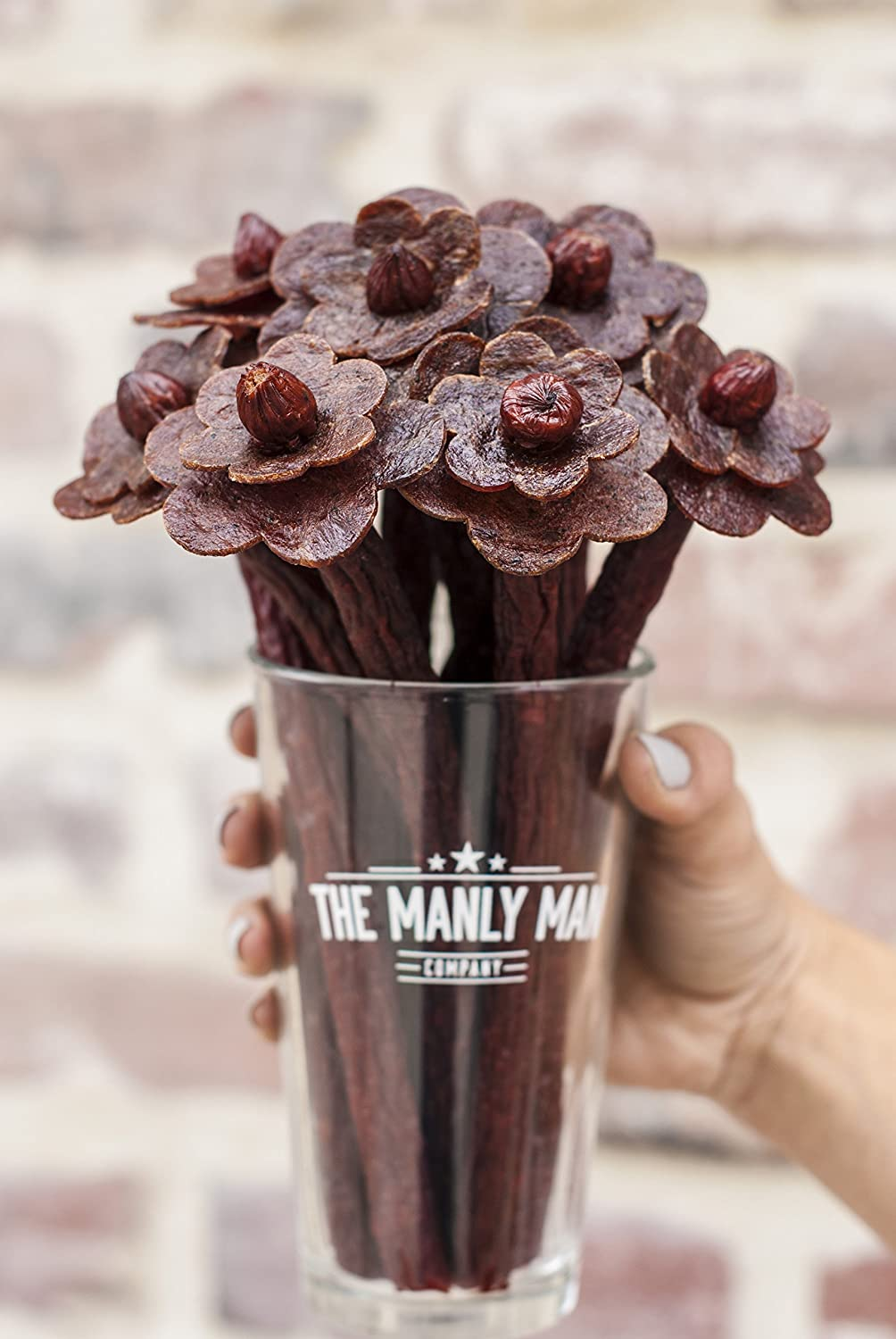 Enter and you could be the lucky reader who wins a Beef Jerky Flowers Manly Man Bouquet valued at $89 when this giveaway ends November 1st! #Broquet #Prize #Win