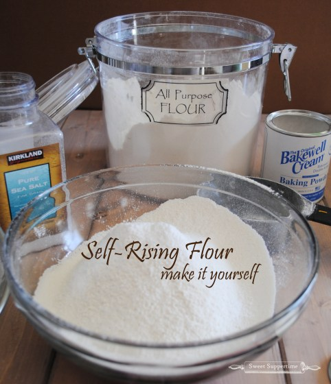 making self-rising flour, how to make self rising flour, sweet suppertime, shanon balser