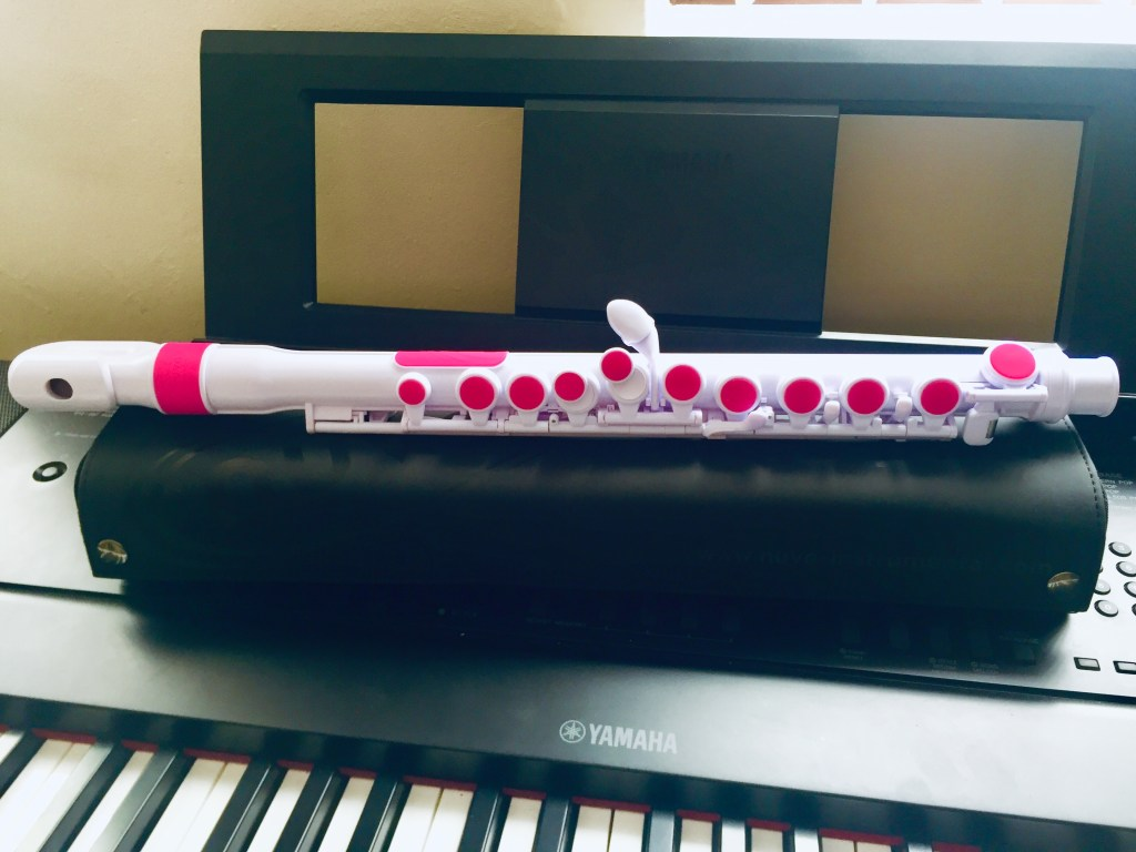 The Nuvo Flute is perfect for young Students taking Flute Lessons