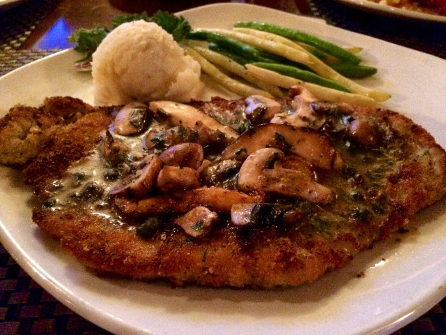 Jaeger Schnitzel with Brown Butter and Capers