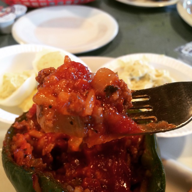 Just Look at This Stuffed Pepper!