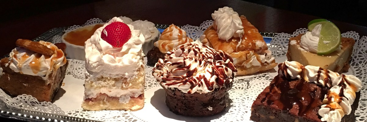 So many dessert choices!! Which one do I want?!?
