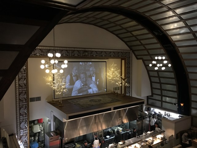 A glamorous movie theater is now a chic restaurant in Gastonia.