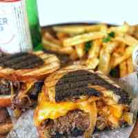 Classic Patty Melt Sandwiches