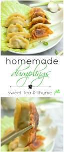 Japanese Potstickers - Sweet Tea & Thyme