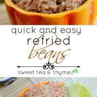 Quick & Easy Refried Beans