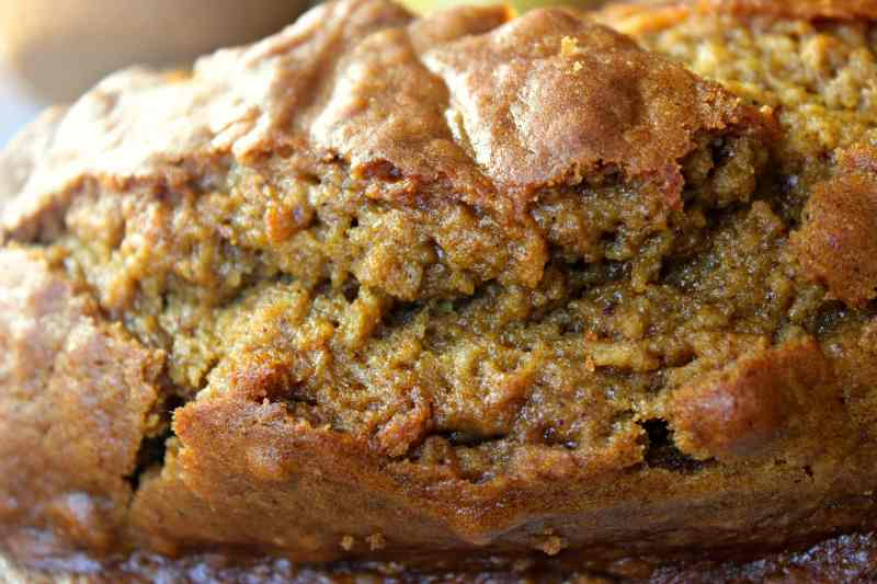 This pumpkin bread is the epitome of the fall season. It's full of that wonderful pumpkin flavor and autumn spices, but the best part is...you can make it days ahead of when you need it, it just gets better and better each day. www.sweetteaandthyme.com