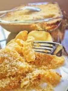 Creamy Baked Macaroni & Cheese - Sweet Tea & Thyme