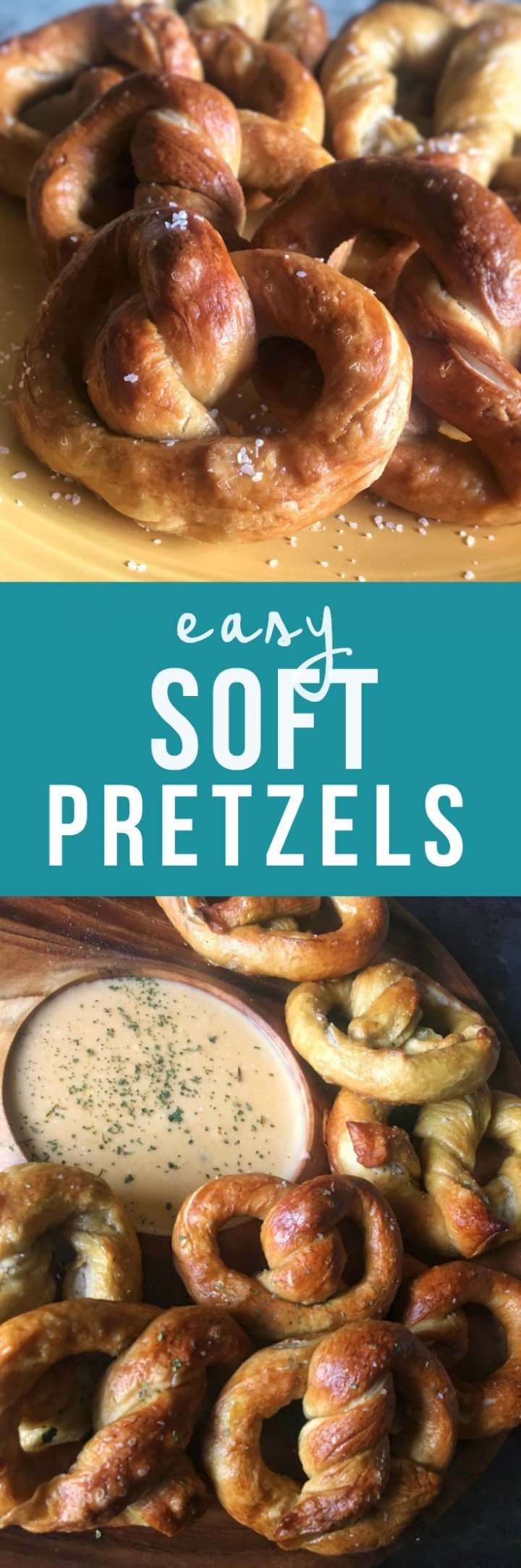 This soft pretzel recipe may even be better than that mall kiosk. Soft, chewy, easy homemade pretzels in 45 minutes, start to finish.