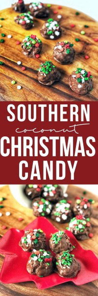 Martha Washington candies are sweet little coconut-filled Southern Christmas traditions that are versatile and fun to eat!