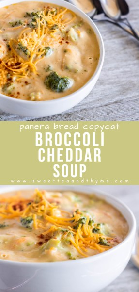 Comforting and creamy broccoli cheddar soup is a fan-favorite! So easy to do, quick to make, and perfect for those cold weather evenings!
