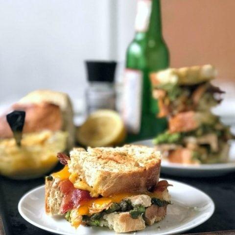 Chipotle Chicken Panini Sandwich (Panera Bread Copycat)