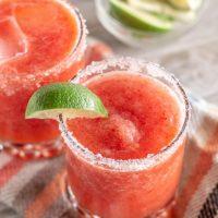 Not Your Average Strawberry Margarita - The Miami Sugar Baby Margarita