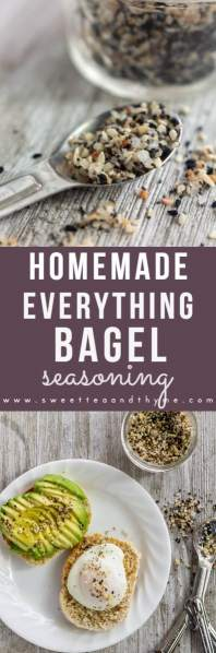 Make your own everything bagel seasoning at home! Only 6 ingredients and five minutes to make this on-trend seasoning blend.