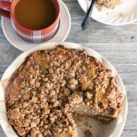 Chai Latte Crumb Cake
