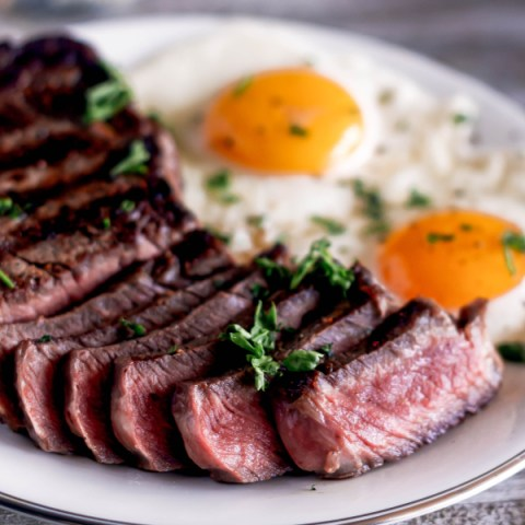 Steak and Eggs, Diner-Style