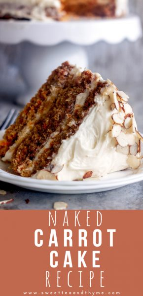 A beautifully spiced, tender, and incredibly moist carrot cake recipe with luscious cream cheese frosting. The best carrot cake you'll ever make!