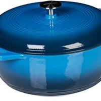 Enameled Cast Iron Covered Dutch Oven, 6-Quart