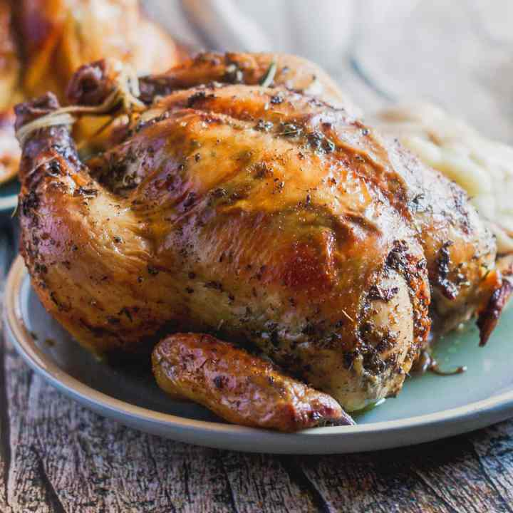 Herb Roasted Cornish Hens