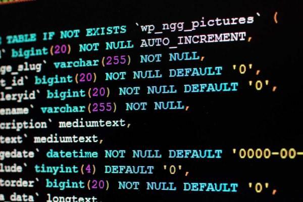 MySQL Code