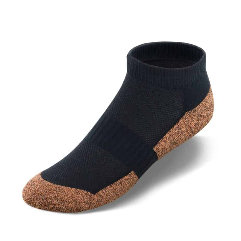 Apex foot copper cloud diabetic socks black