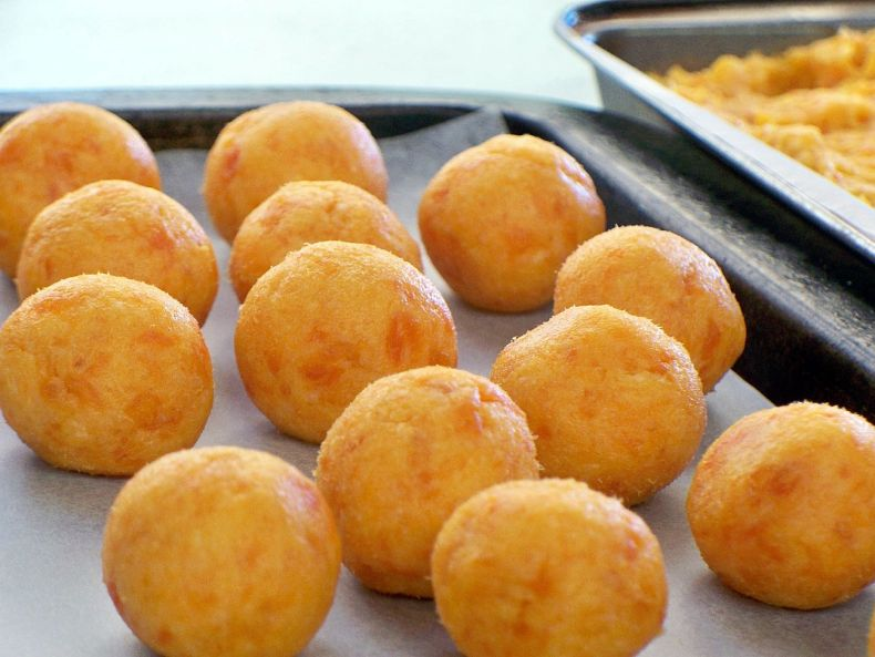Apricot and White Chocolate Truffles