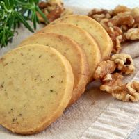 Rosemary and Walnut Shortbread