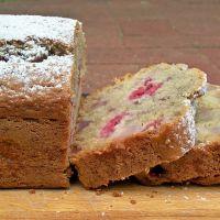 Pear & Raspberry Coconut Bread