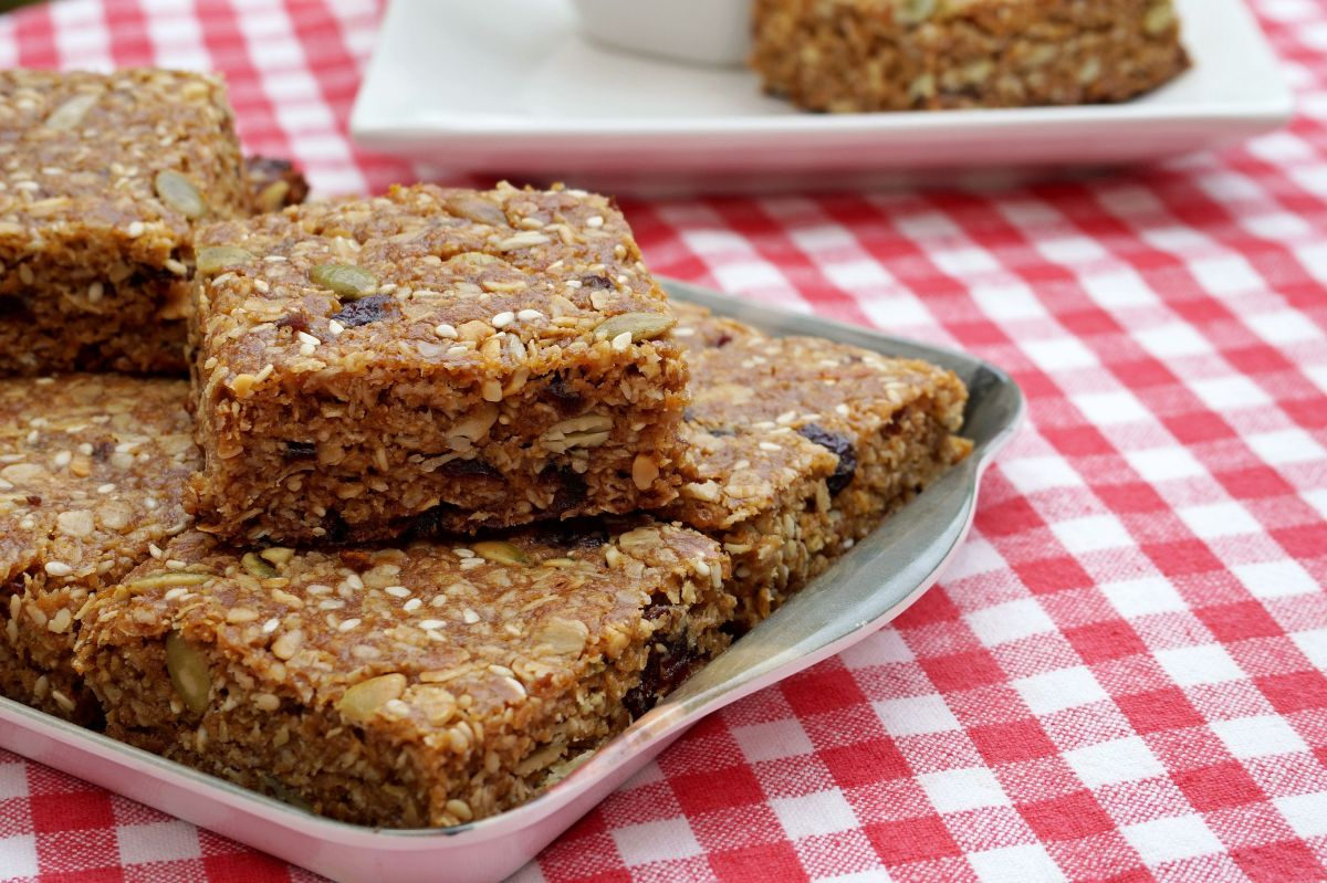 Chewy Fruit and Seed Slice {gluten-free, and very, very addictive}