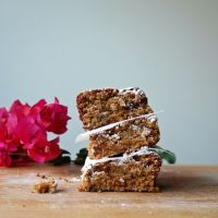 Butterscotch Blondies {with gf/df option}