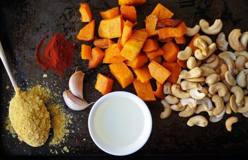 Chunky Roast Pumpkin Cashew Dip Vegan Gluten Free