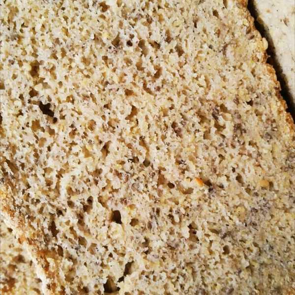 Gluten-free Whole Grain Chia Bread