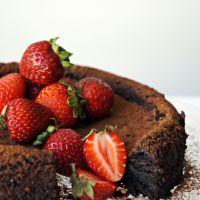 Bittersweet Jaffa Almond Cake {vegan, GF}