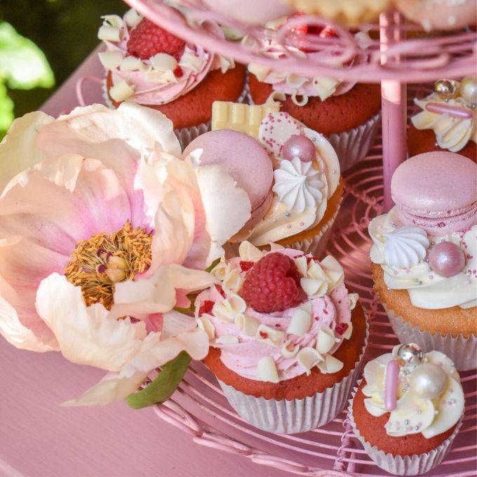 Close-up Pink Lush Sweets