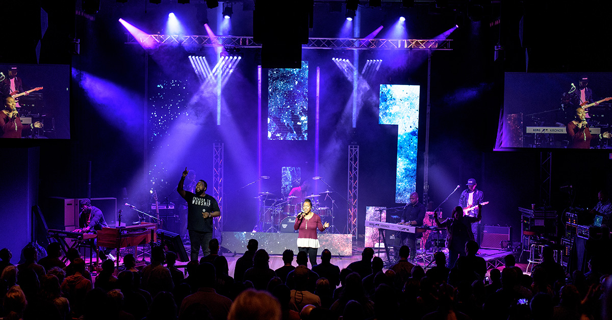 best stage lighting for churches