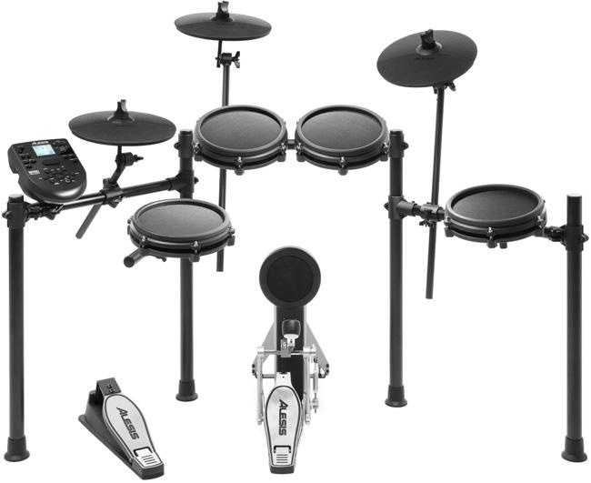 7 Best Electronic Drum Kits 2019 Alesis Nitro Mesh