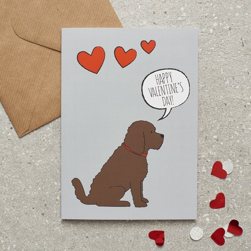 Cockapoo Valentines Day Card 275 Mischievous Mutts