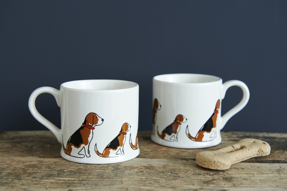 Beagle Mug 163 15 95 Mischievous Mutts Mugs Sweet William