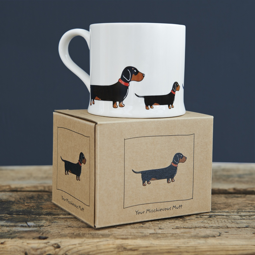 Dachshund Sausage Dog Mug 163 15 95 Mischievous Mutts
