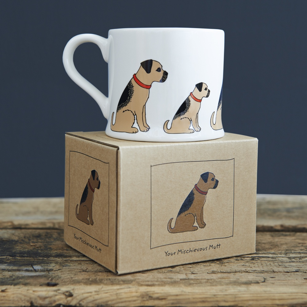 Border Terrier Mug 163 15 95 Mischievous Mutts Mugs Sweet