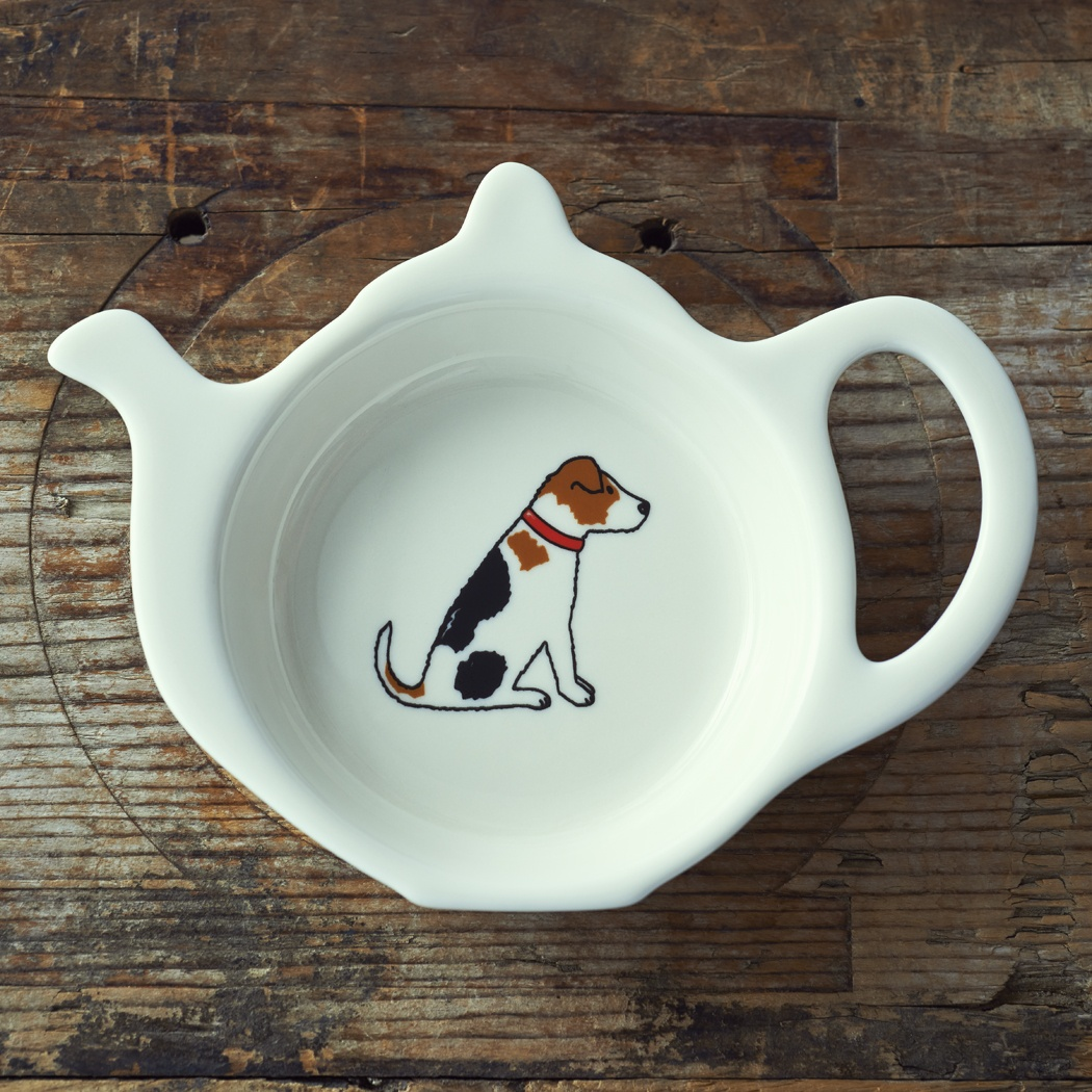Jack Russell Teabag Dish 163 9 50 Mischievous Mutts
