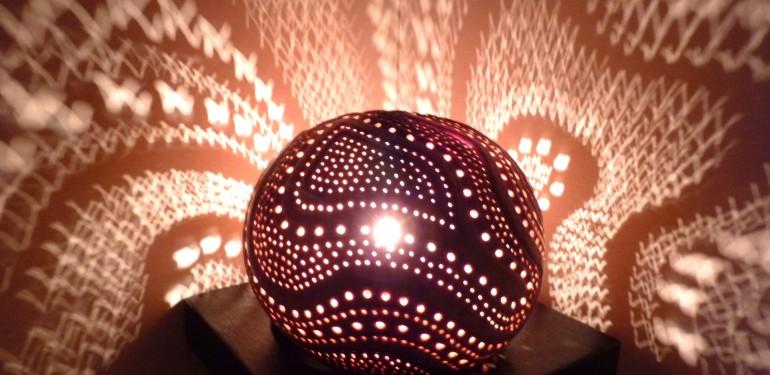 une lampe d ambiance pour mon salon vite