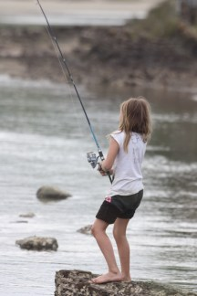 learn to fish in the Transkei