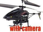 Remote Control Helicopter With Video Camera